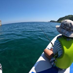 釣りがしたいと仰るのでレッツトライ。無事釣れましたー。