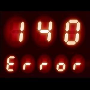 リモコンに【140】表示 - 給湯器 エラーコード 140|過熱防止装置作動、他