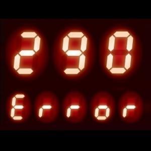 給湯器リモコンにエラー【290】でも諦めないで!5つの原因と解決策