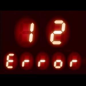 ガスコンロ エラーコード 12|立消え安全装置作動の可能性