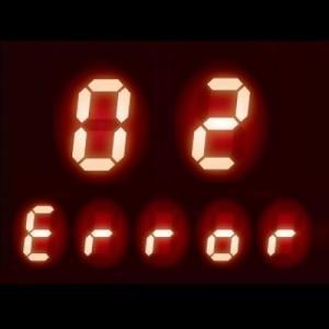 ガスコンロ エラーコード 02|安心・安全機能で自動停止した可能性