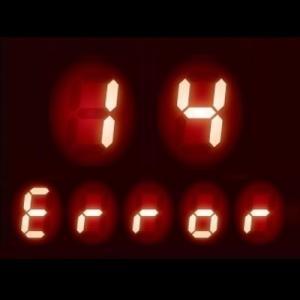ガスコンロ エラーコード 14|温度センサー過熱防止機能作動