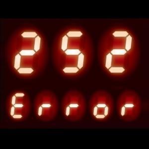 リモコンに【252】表示 - 給湯器 エラーコード 252|ふろ水流スイッチの異常