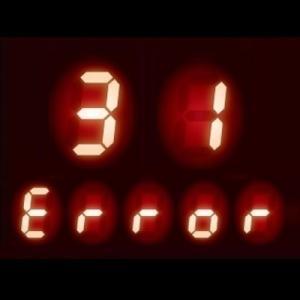 ガスコンロ エラーコード 31|温度センサーの故障、他