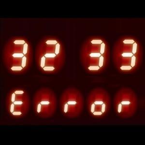 ガスコンロ エラーコード 【32】【33】|センサー故障、他