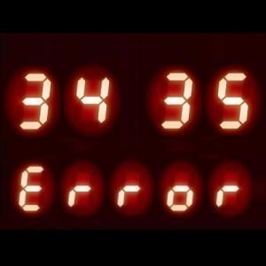 ガスコンロ エラーコード 【34】【35】|部品故障や異常検知