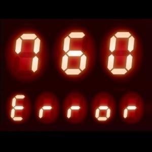 リモコンに【760】表示 - 給湯器 エラーコード 760|リモコン通信異常、他
