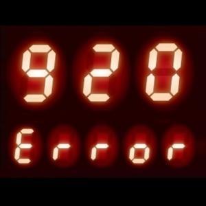 リモコンに【920】表示 - 給湯器 エラーコード 920|中和器交換時期(予告)