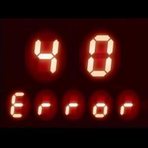 ガスコンロの液晶に【40】表示 - 「エラーコード40」の内容とは