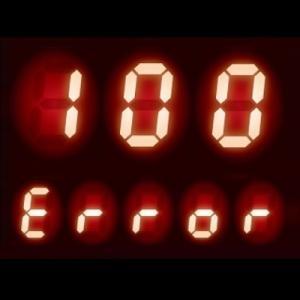 給湯器 エラーコード 100|燃焼に異常が発生している可能性