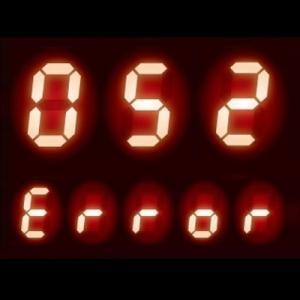給湯器 エラーコード 052|ふろ回路に異常発生