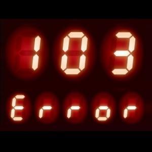 給湯器 エラーコード 103|暖房燃焼異常、暖房能力ダウンの症状