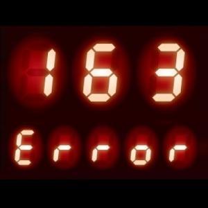 給湯器 エラーコード 163|暖房配管や暖房回路の異常
