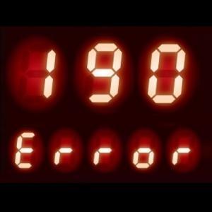 給湯器 エラーコード 190|配線やコネクタ等の異常