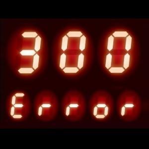 給湯器 エラーコード 300|外気温をチェックするサーミスタ異常