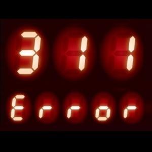 給湯器 エラーコード 311|給湯回路のサーミスタの不具合