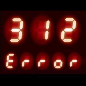 給湯器 エラーコード 312|ふろサーミスタ回路の異常