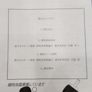 【組み合わせ】第2回年代別ペアマッチ卓球大会