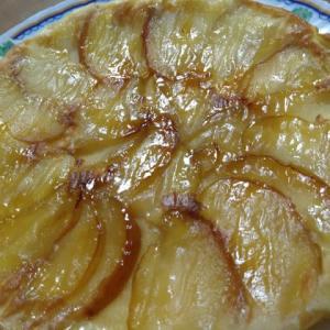 りんごケーキ作りました