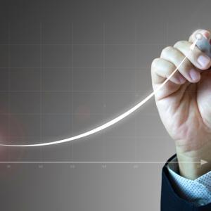exponential growth = 指数関数的成長