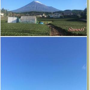 今朝の富士山 2019年10月23日