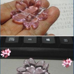 これを彫金に使ってみよう 桜の箸置き
