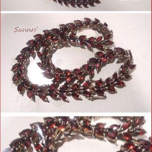 MYお宝コレクション 豪華なガーネットのネックレス