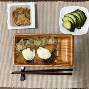 今日の夜ご飯☆オリジン弁当ののり弁