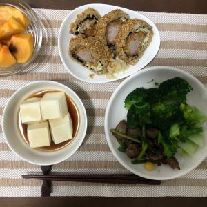 今日の夜ご飯☆大好物のブロッコリー