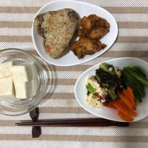今日の夜ご飯☆みんな大好きオリジン弁当のお惣菜