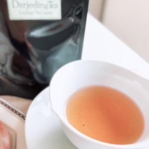 和菓子とベストマッチの紅茶でティータイム♬