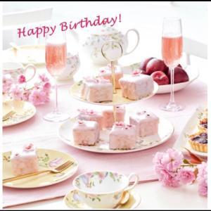 誕生日を迎えた日は〜ダブルのお祝い♡