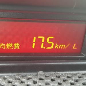 プレマシー実燃費(滋賀県→高島→越前→滋賀県(高島経由)9/19(日)