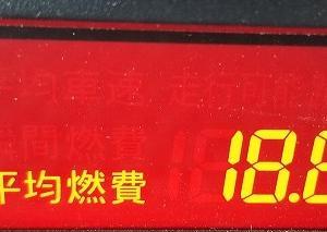 プレマシー実燃費(滋賀県⇔越前10/16-17(金土)