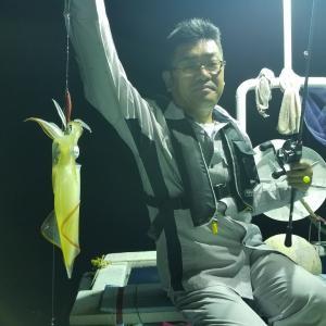 2019.8.9-10越前沖でゲスト2人とケンサキイカ狙い!
