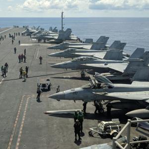 """米中""""軍事衝突""""戦慄シナリオ! 南シナ海での偶発的な局地戦が泥沼化 専門家「中国が台湾侵攻、北朝鮮も南進…第三次大戦だ」"""