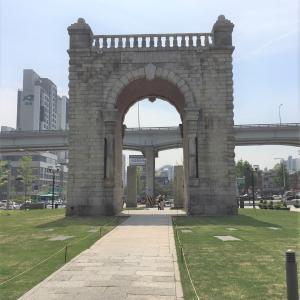 ソウルの独立門でイルボンを探す
