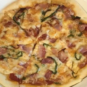 外出自粛令 もはや食べることしか愉しみがなく家族でピザを作る