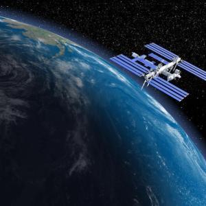 宇宙ステーション「きぼう」をやっと観測