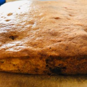 復調の土曜日には、デザートのパウンドケーキを焼いたよ