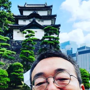 NPOの行事で真夏の皇居の見学に行かせて頂きました結果軽い熱中症に・・・