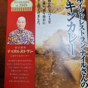 日本管財優待 ナイルさんのチキンカレーを食べる