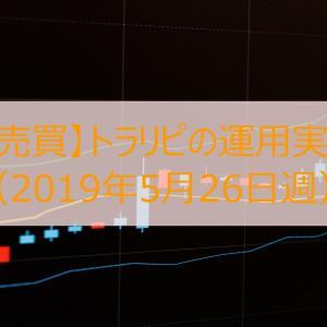【FX自動売買】トラリピの運用実績を公開(2019年5月26日週)
