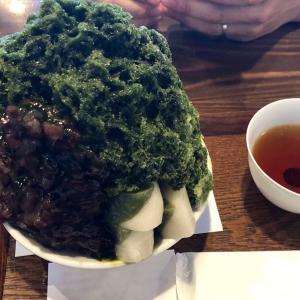 大津石山寺で美味しすぎる石餅かき氷(叶匠壽庵)