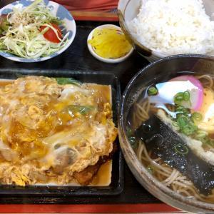久しぶり!神戸三宮お蕎麦屋さんでおいしいカツ丼ランチ(一福)