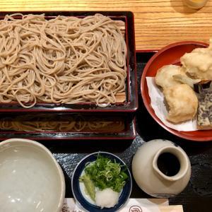 京都高島屋 老舗の蕎麦屋で夕ご飯(本家尾張屋)