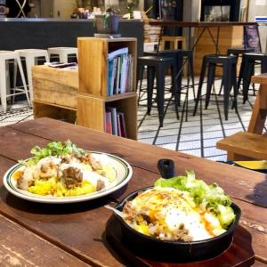心斎橋のお気に入りカフェで食べ散らかしランチ(BASEMENT)
