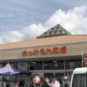桃をお買い得に箱買いできる『めっけもん広場』&車中泊 at 岸和田SA