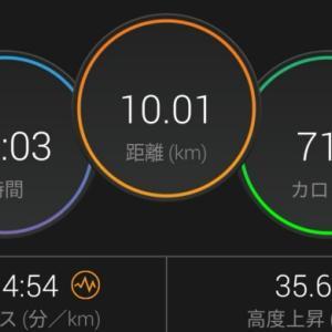 今日の走る男!?