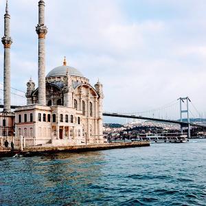 イスタンブールの美しいモスク